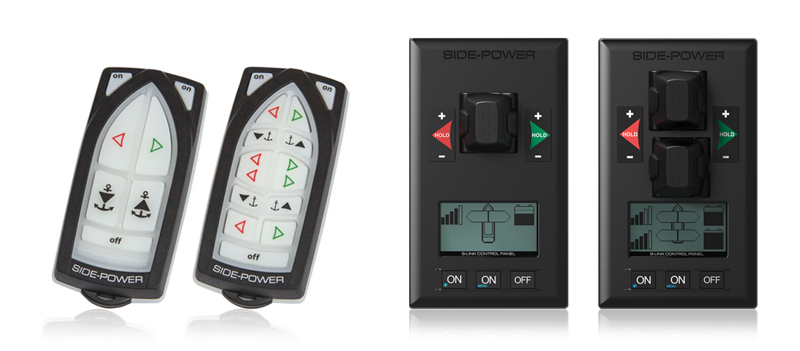 Side-Power PRO Control Panels