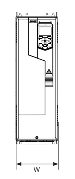 VFD Measurements - Front View